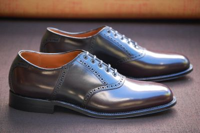Alden Shoes The American Saddle Shoe Leather