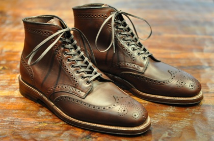 Alden Shoes - Chromexcel Plaza Wingtip Boot (LSW & LSBH) - Leather ...