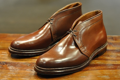 Alden Shoes - Ravello Shell Cordovan Chukka Boots (LSW & LSBH ...