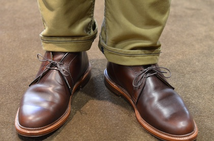 Alden Shoes Chromexcel Chukka Lsw Leather