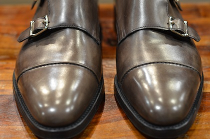 John Lobb William Ii In Pewter Museum Lsw Leather