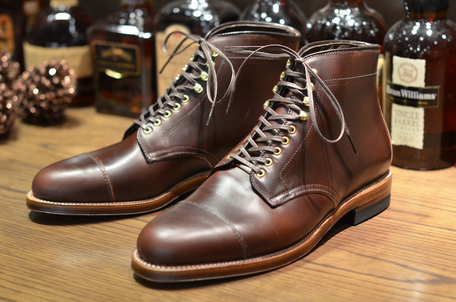 Alden shoes the vanguard boot lsw lsbh leather for The alden