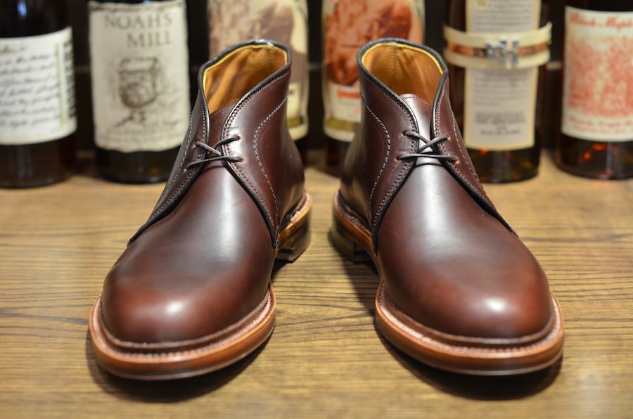 Alden shoe cxl chukka re stock lsw lsbh leather for The alden