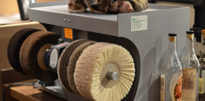 Will's Polishing Machine Leather SoulLeather Soul Impressive Pilgrim Shoe Sewing Machine Company