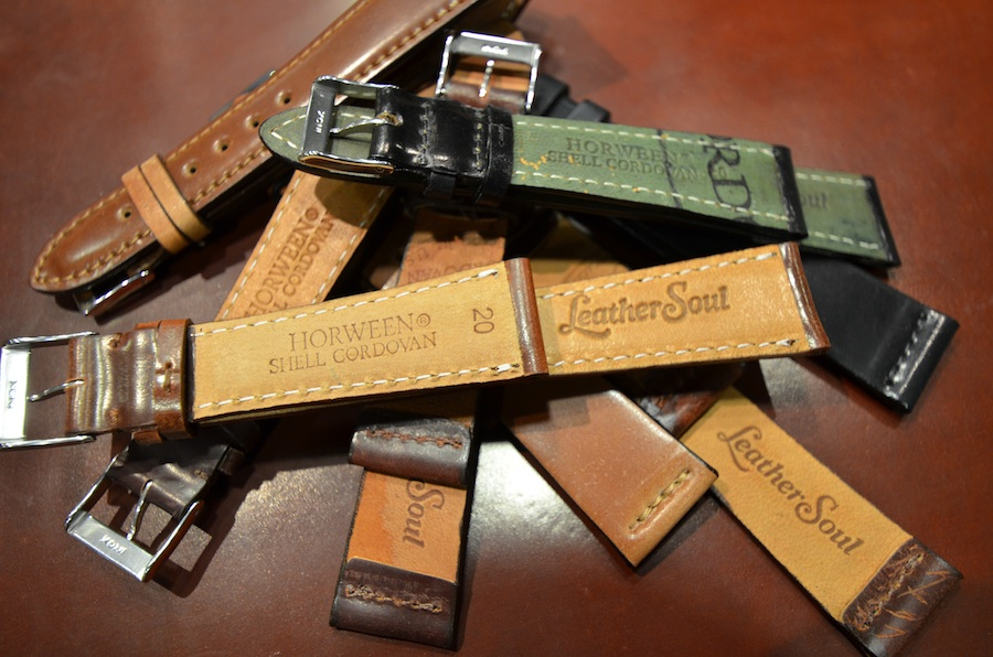 03576c380 Leather Soul - Shell Cordovan Watch Straps - Leather SoulLeather Soul