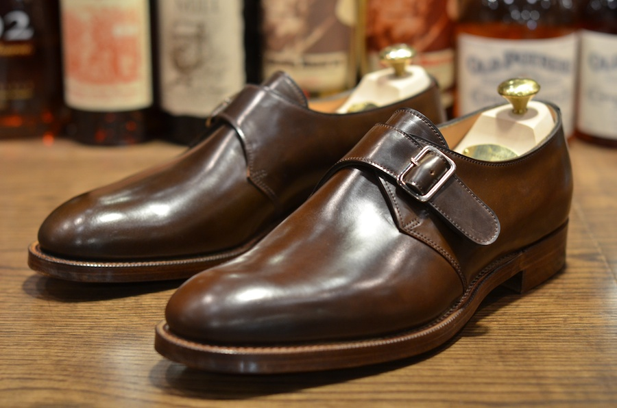Edward Green Troon In Brown Crup Lsw Leather