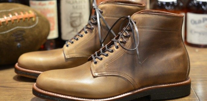 Alden Shoe Natty Cxl Ptboot W Crepe Sole Lsw Leather