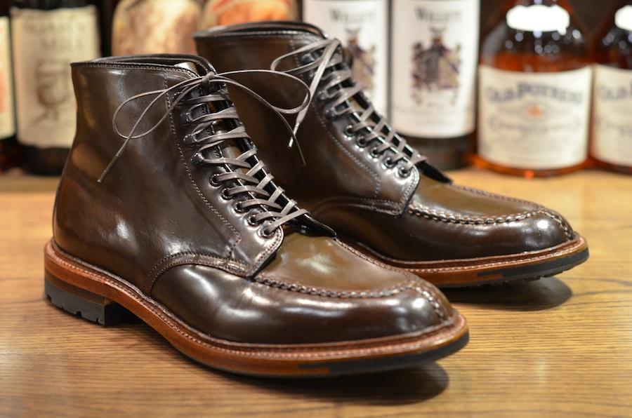 Alden Red Shoes