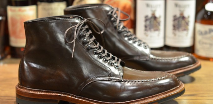 Alden Shoe Cigar Tanker Boot Lsw Leather Soulleather