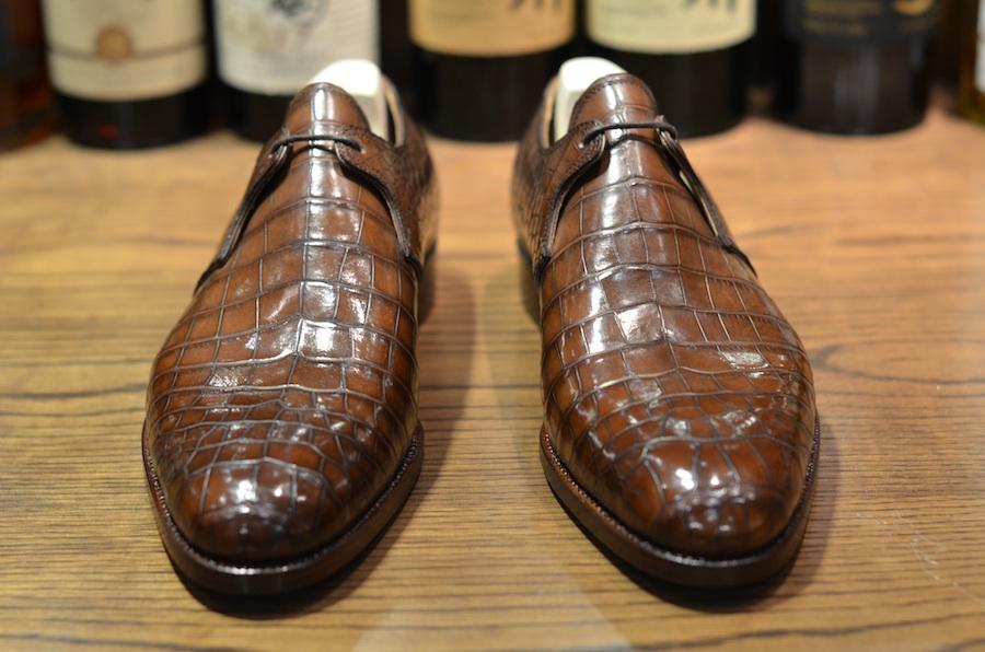acheter et vendre authentique chaussures crocodile homme