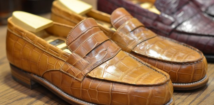 Jm Weston Alligator 180 Loafer Lsw Leather
