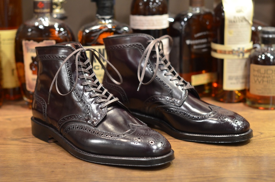 Alden Shoes Plaza Wingtip Boot Restock Lsw Leather