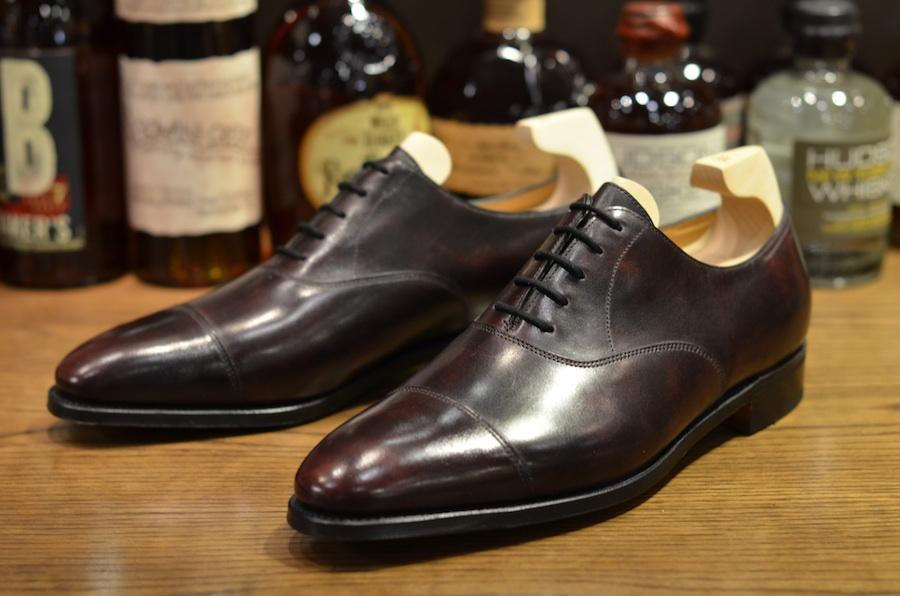 John Lobb Shoes >> John Lobb - City II in Plum Museum (LSW) - Leather ...